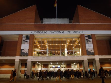 Das Auditorio Nacional de Música in Madrid.